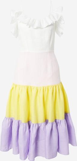 KAN Kleid 'HEAVEN' in gelb / flieder / hellpink / weiß, Produktansicht