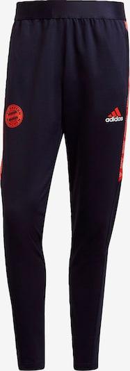 ADIDAS PERFORMANCE Sporthose in navy / orange, Produktansicht
