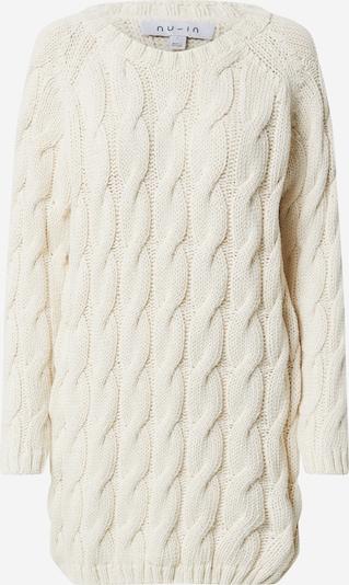 NU-IN Robes en maille en beige, Vue avec produit