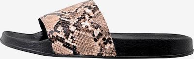 Šlepetės 'Stone' iš Bianco, spalva – ruda / kapučino spalva / juoda, Prekių apžvalga