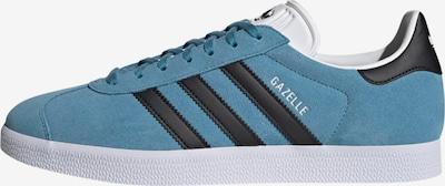 ADIDAS ORIGINALS Sneakers laag 'Gazelle' in de kleur Smoky blue / Zwart / Wit, Productweergave