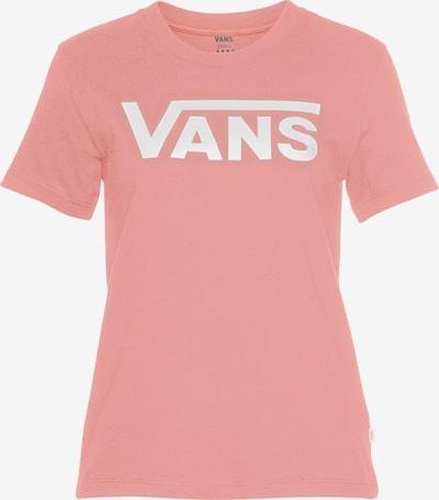 VANS T-Shirt in rosé / weiß, Produktansicht