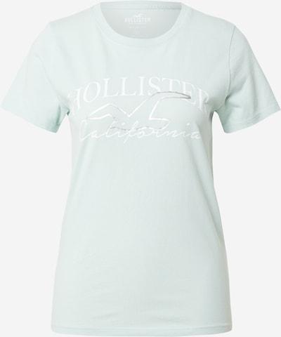 HOLLISTER Shirt in azur / silber / weiß, Produktansicht