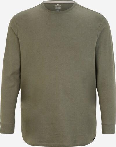 TOM TAILOR Men + Shirt in oliv, Produktansicht