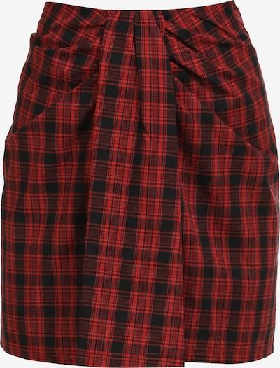 myMo ROCKS Rok in de kleur Rood / Zwart, Productweergave