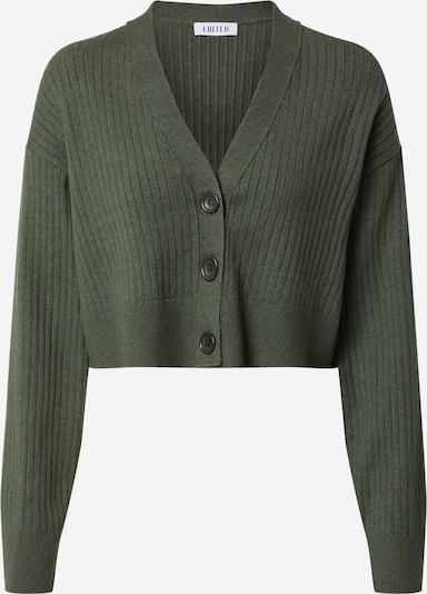 EDITED Strickjacke 'Fiona' in khaki, Produktansicht