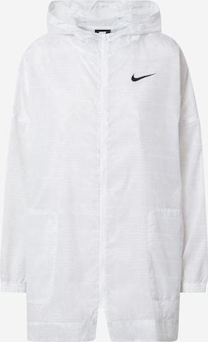 Nike Sportswear Between-Season Jacket 'W NSW INDIO JKT WOVEN AOP' in White