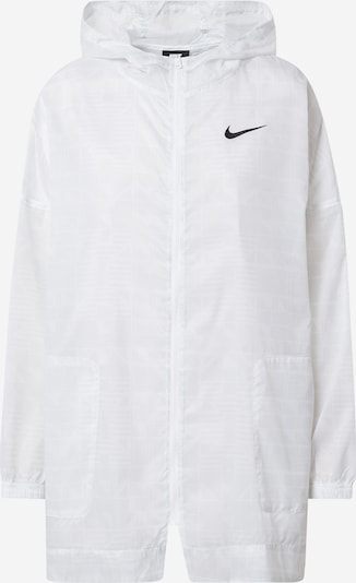 Nike Sportswear Overgangsjakke 'W NSW INDIO JKT WOVEN AOP' i hvid, Produktvisning