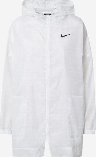 Nike Sportswear Starpsezonu jaka 'W NSW INDIO JKT WOVEN AOP' balts, Preces skats