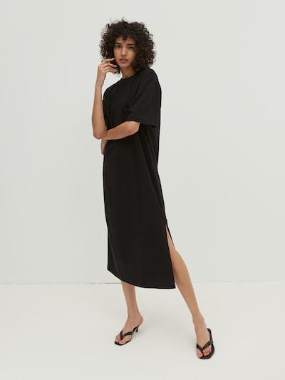 EDITED Kleid 'Zuri' in schwarz, Modelansicht