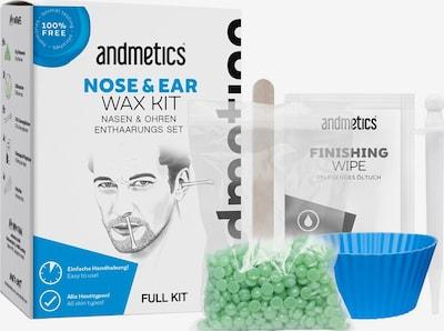 Andmetics Set 'Nose & Ear Wax ' in blau / schwarz / weiß, Produktansicht