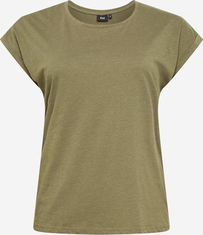 Zizzi Shirt 'MKATJA' in de kleur Olijfgroen, Productweergave
