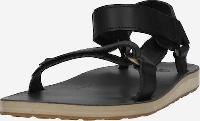 Sandale trekking TEVA pe negru, Vizualizare produs