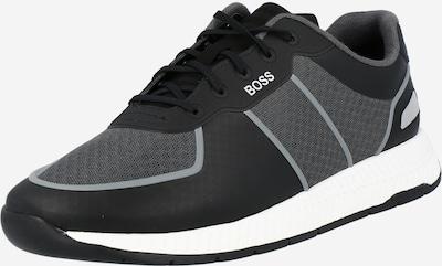 BOSS Casual Sneaker 'Titanium' in grau / schwarz, Produktansicht