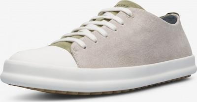 CAMPER Sneakers laag 'Twins' in de kleur Lichtgrijs / Donkergrijs, Productweergave