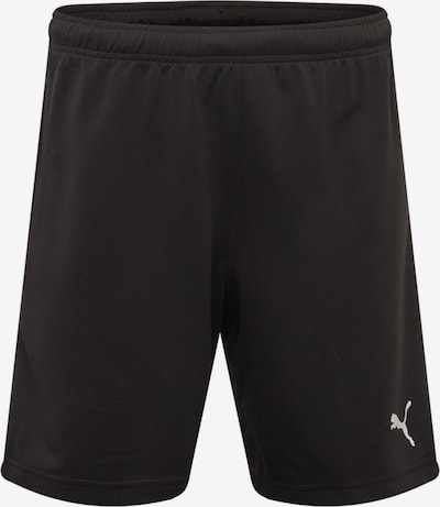 PUMA Sporthose 'teamRISE' in schwarz / weiß, Produktansicht