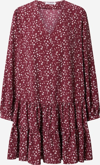 GLAMOROUS Dress in Wine red / White, Item view
