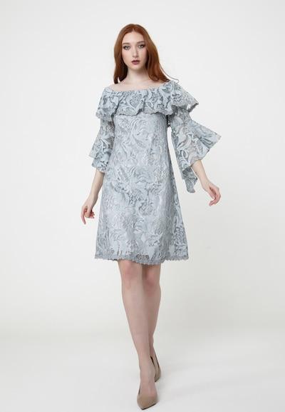 Madam-T Sommerkleid 'SALLY' in grau, Modelansicht