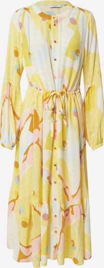 NÜMPH Robe-chemise 'Nucasey' en jaune / mélange de couleurs, Vue avec produit
