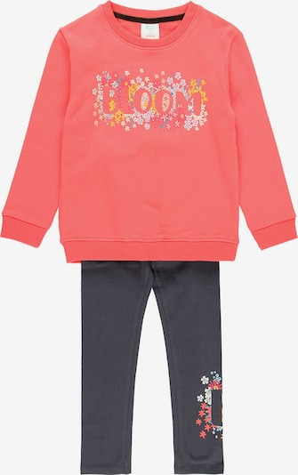 Boboli Trainingsanzug in mischfarben / pink / schwarz, Produktansicht