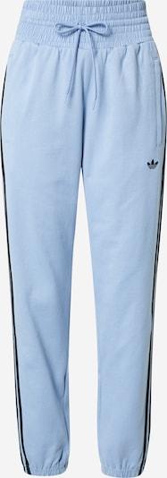 Kelnės iš ADIDAS ORIGINALS, spalva – mėlyna dūmų spalva / juoda, Prekių apžvalga
