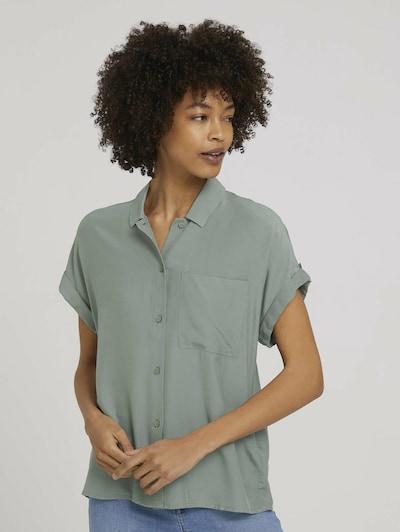 MINE TO FIVE Bluse in smaragd, Modelansicht