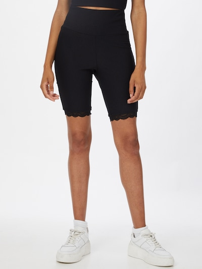 Pantaloni Urban Classics pe negru, Vizualizare model