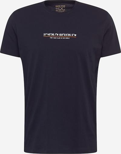 EDC BY ESPRIT T-Shirt in schwarz / weiß, Produktansicht