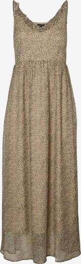 VERO MODA Kleid 'KAY' in beige / schwarzmeliert, Produktansicht