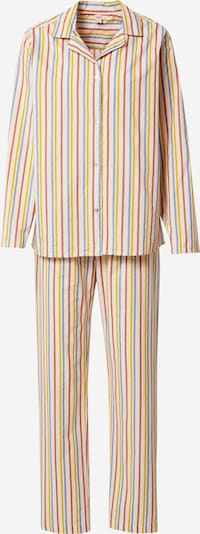 BeckSöndergaard Pyjama in hellbeige / mischfarben, Produktansicht