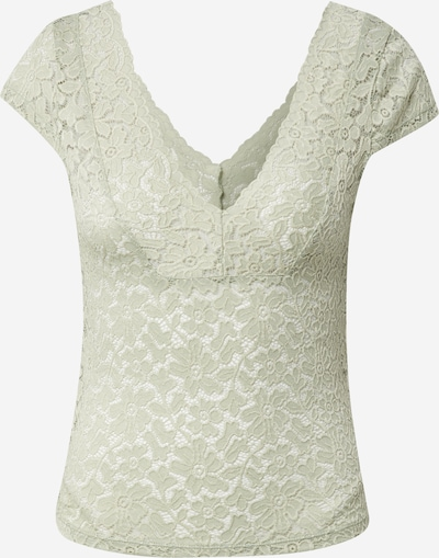 ONLY Topp 'ONLALBA S/S V-NECK TOP JRS' heleroheline, Tootevaade