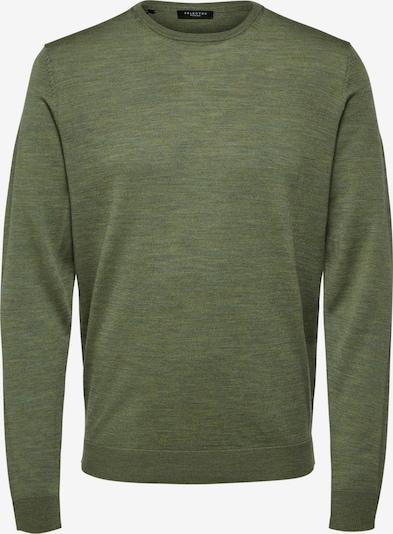 SELECTED HOMME Pullover in grün, Produktansicht