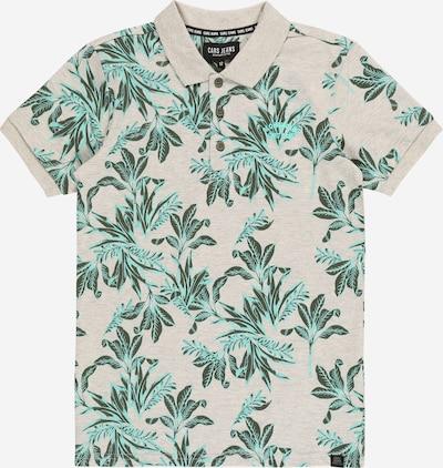 Cars Jeans T-Shirt 'RICHIE' en gris chiné / jade / vert foncé, Vue avec produit