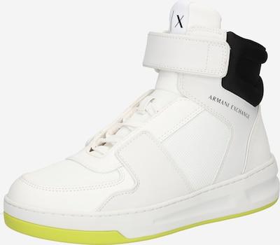 Sneaker înalt '629' ARMANI EXCHANGE pe alb, Vizualizare produs