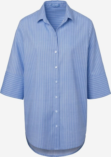 DAY.LIKE Kurzarmbluse Bluse mit 3/4-Arm in blau, Produktansicht