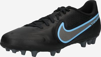 NIKE Fußballschuh 'Tiempo Legend 9' in hellblau / silbergrau / schwarz, Produktansicht