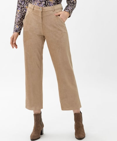 BRAX Hose 'Maine' in karamell, Modelansicht