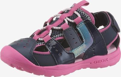 GEOX Kids Sandale in blau / pink, Produktansicht