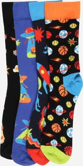 Happy Socks Socken 'Space' in blau / navy / mischfarben / schwarz, Produktansicht