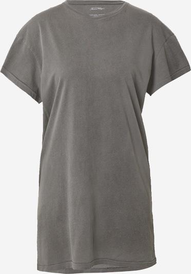 AMERICAN VINTAGE Oversized shirt 'Vegiflower' in de kleur Grijs, Productweergave