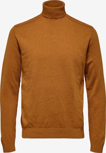 SELECTED HOMME Pullover 'Berg' in cognac, Produktansicht