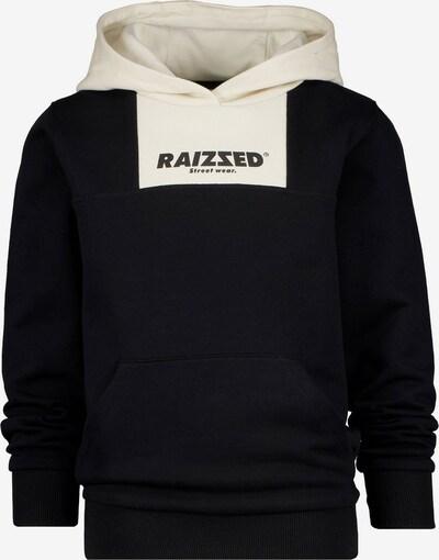 Raizzed Sudadera 'NOVI' en negro / blanco, Vista del producto