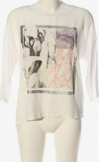 Lisa Tossa Blusenshirt in M in hellgrau / weiß, Produktansicht
