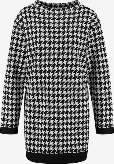 GERRY WEBER Pullover in schwarz / weiß, Produktansicht