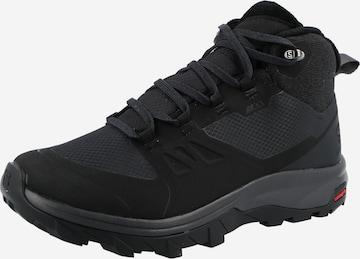 Boots 'OUTsnap' SALOMON en noir