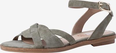 Sandale cu baretă s.Oliver pe kaki, Vizualizare produs