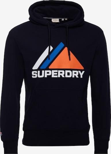 Superdry Sportisks džemperis jūraszils, Preces skats