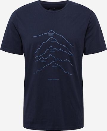 ARMEDANGELS Póló 'JAAMES' - kék