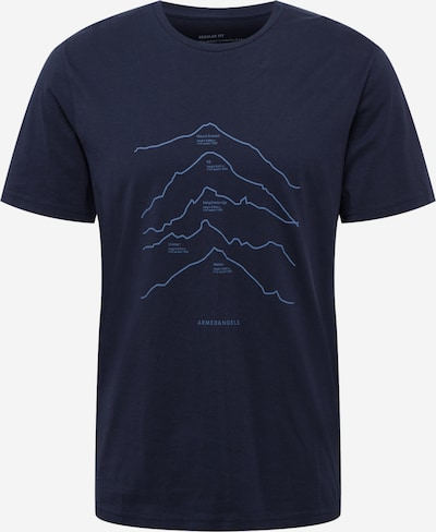ARMEDANGELS T-Shirt 'JAAMES' en bleu marine, Vue avec produit