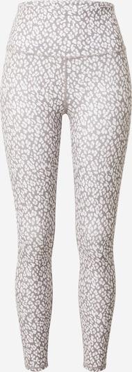 Varley Leggings in grau / weiß, Produktansicht